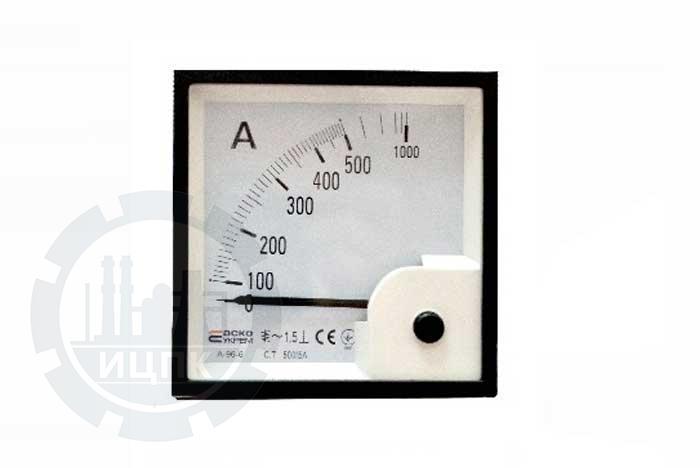 Амперметр трансформаторного включения х/5А А-96-6 фото №1