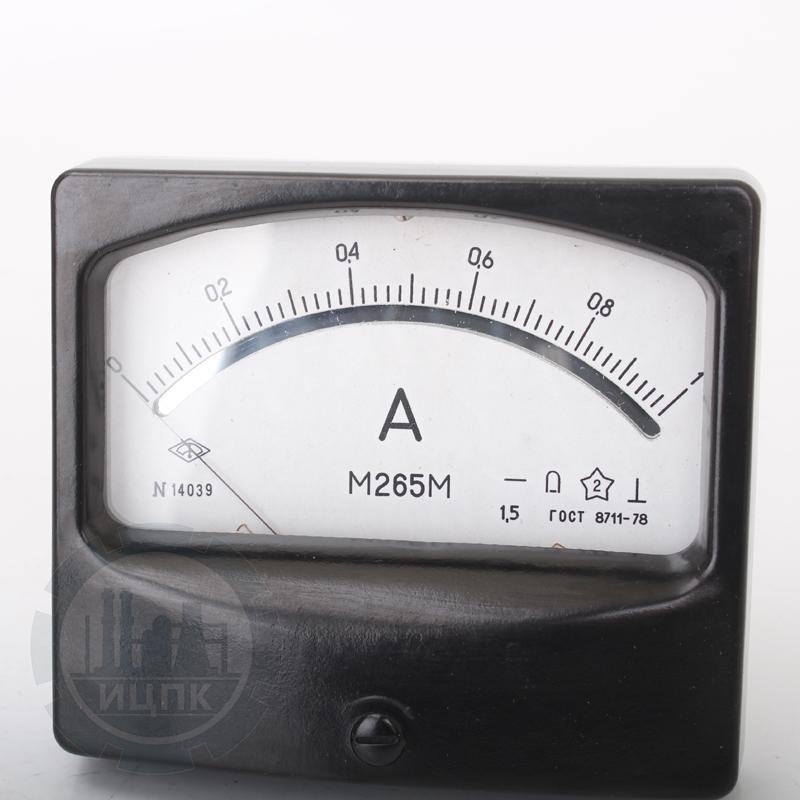 Амперметр М265М фото №2