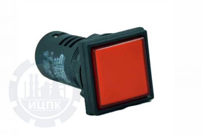 Арматура светосигнальная AD22-22F красная фото №1