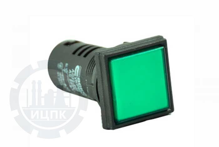 Арматура светосигнальная AD22-22F зеленая фото №1