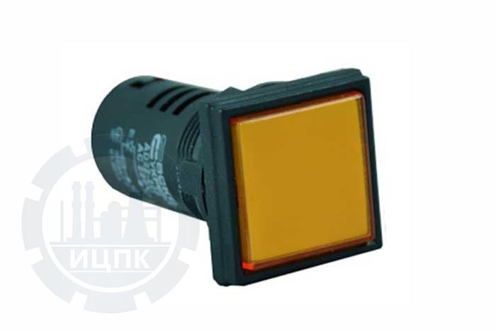 Арматура светосигнальная AD22-22F желтая фото №1