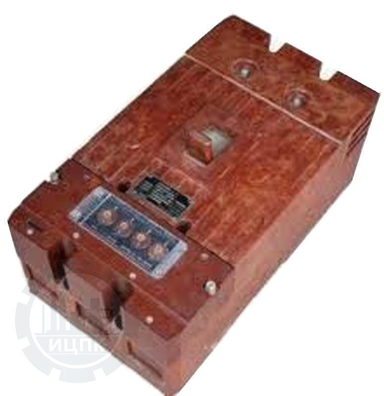 Автоматический выключатель А3796 фото №1