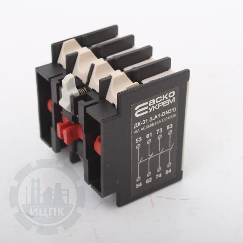 Дополнительный контактный блок LADN31 (ДК-31) фото №2