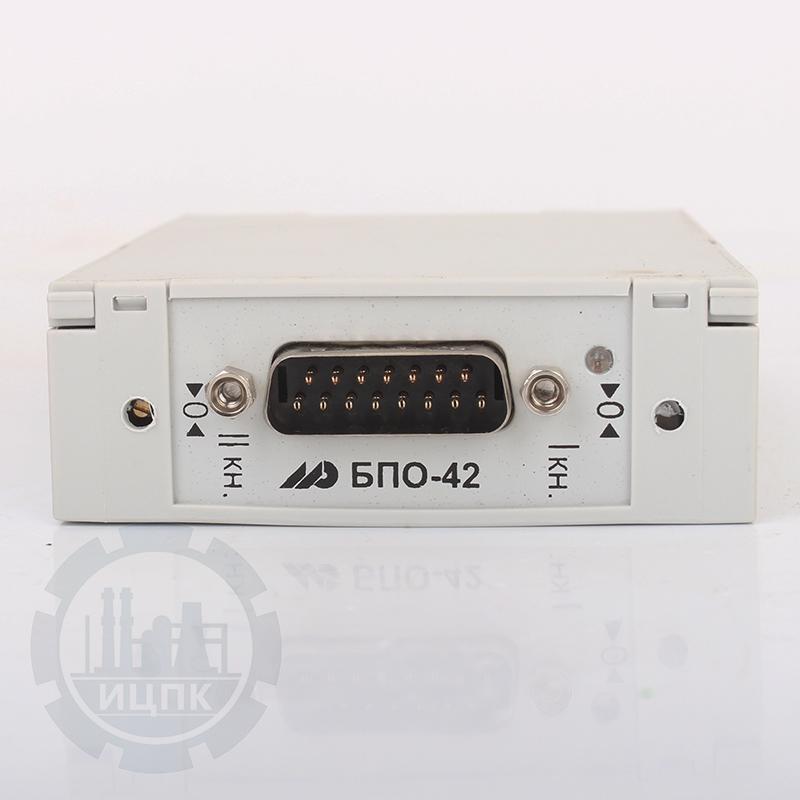 Блок преобразования сигналов термосопротивлений БПО-42 фото №4