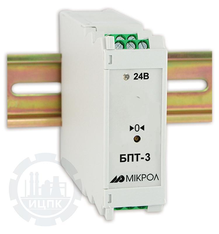 Блок преобразования сигналов тензодатчиков БПТ-3  фото №1
