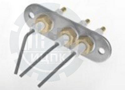 Блок электродов розжига и контроля пламени серия код 1443-640 фото №1