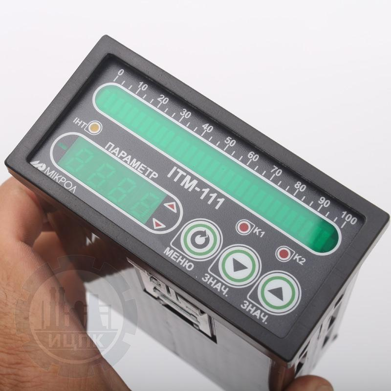 Одноканальные индикаторы с цифровой и линейной индикацией ИТМ-111(В)  фото №1