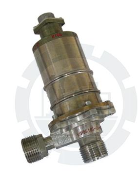 Клапан запорный угловой с электромагнитным приводом УФ 96181-006 фото №1