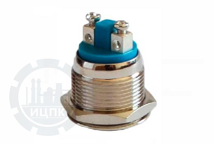 Кнопка металлическая TY 19-211A Scr  фото №1