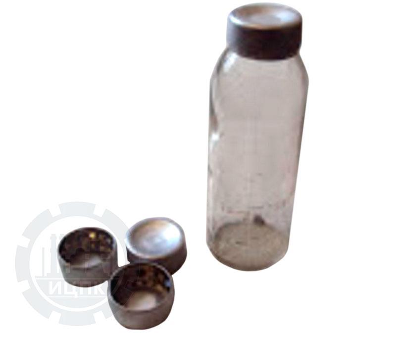 Колпачок-пробка алюминиевый для мерных флаконов К-4 фото №1