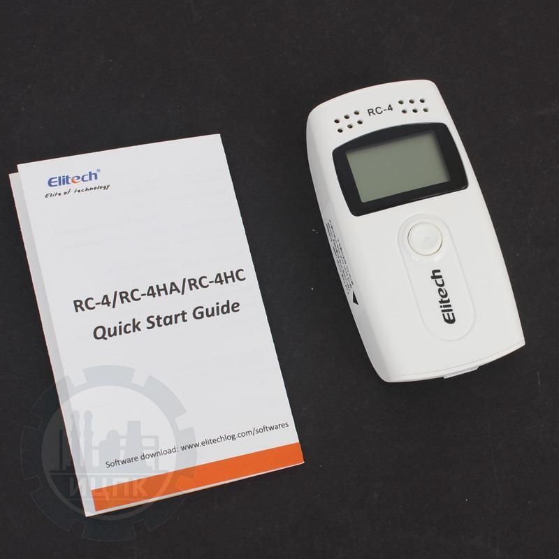 Elitech RC-4 регистратор температуры воздуха фото №3