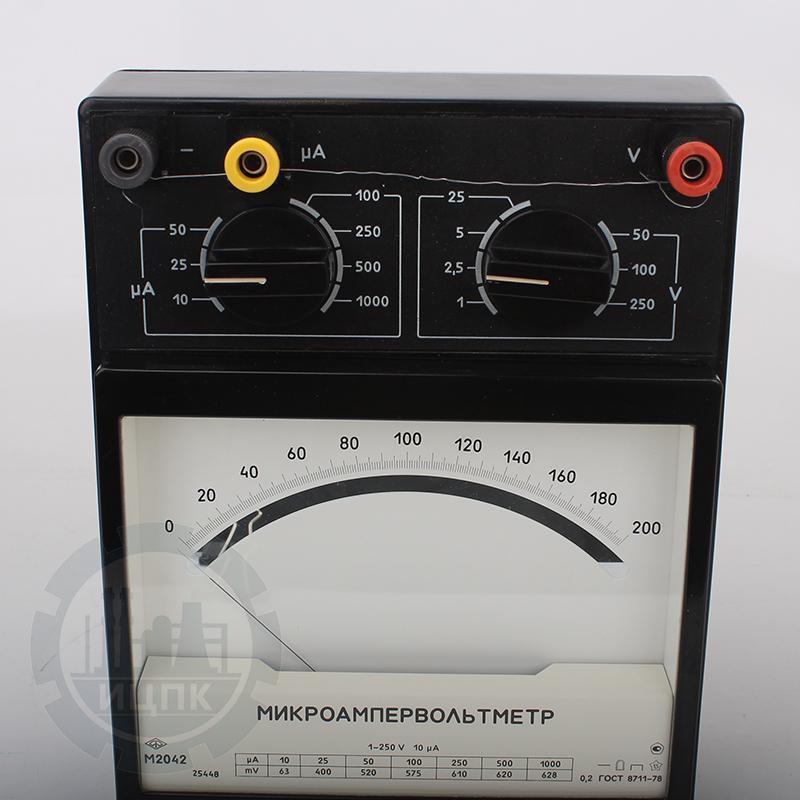 Микроампервольтметр М2042 фото №1