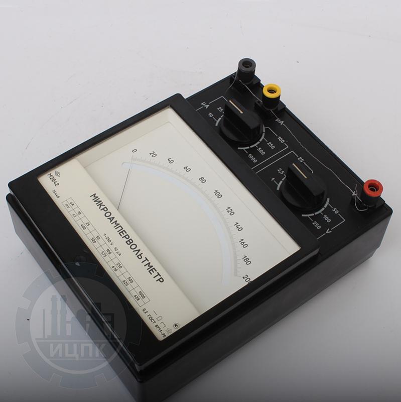 Микроампервольтметр М2042 фото №3