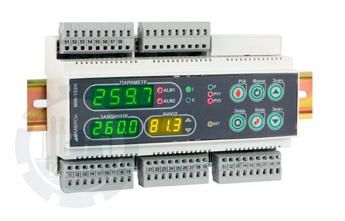 Универасальный микропроцессорный двухканальный ПИД-регулятор МИК-122Н фото №1