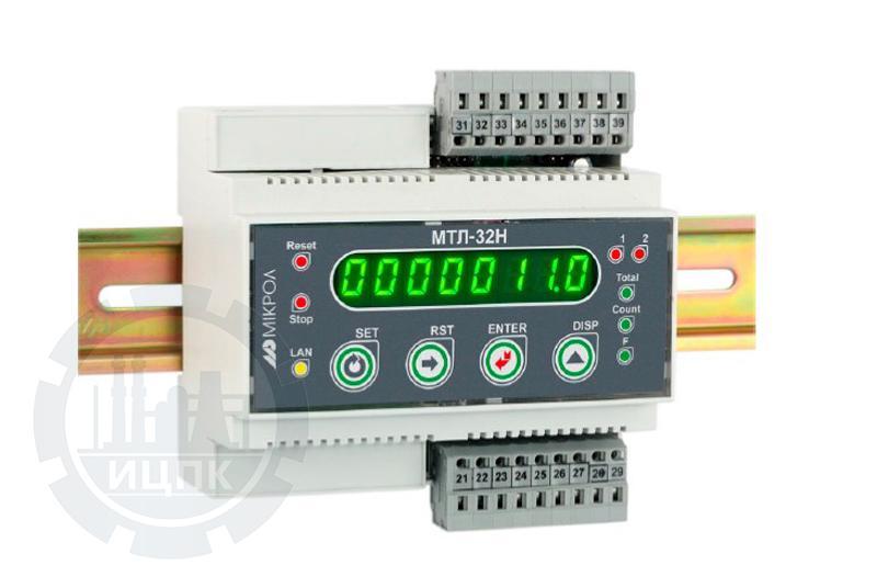 Микропроцессорный таймер-счетчик на DIN рейку МТЛ-32Н фото №1