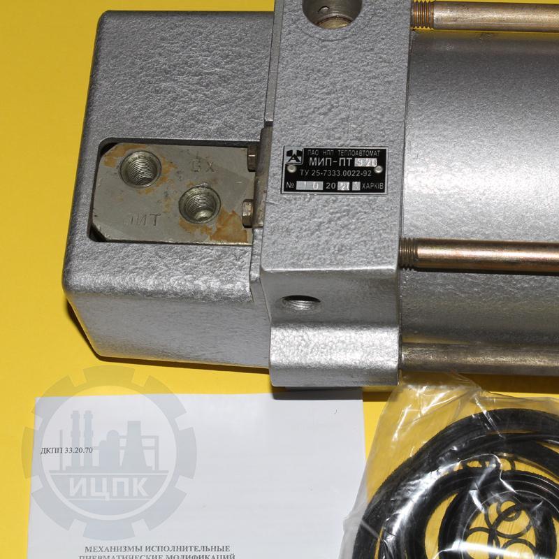 МИП-ПТ-320 механизм исполнительный пневматический фото №3
