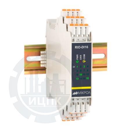 Модуль дискретного ввода 16-ти канальный RIO-DI16  фото №1