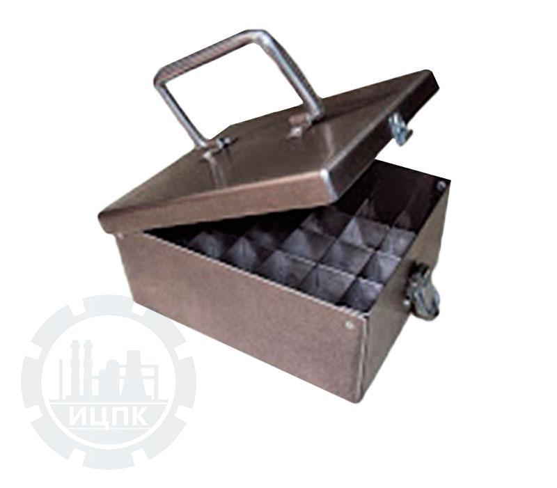 Пенал-лоток для транспортировки сыворотки с крышкой ПЛФ фото №1