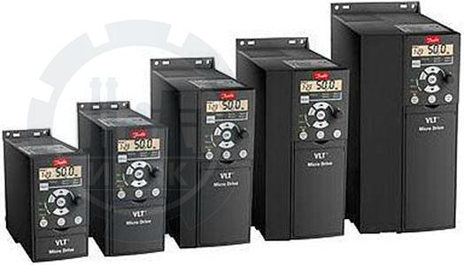 Преобразователи частоты Danfoss VLT Micro Drive FC 51 фото №2