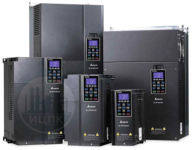 Преобразователи частоты Delta Electronics серии VFD-CP2000 фото №2