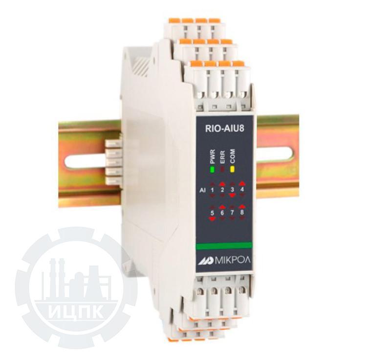 Модуль аналогового ввода 8-ми канальный RIO-AIU8  фото №1