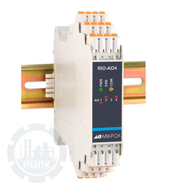 Модуль аналогового вывода 4-х канальный RIO-AO4  фото №1
