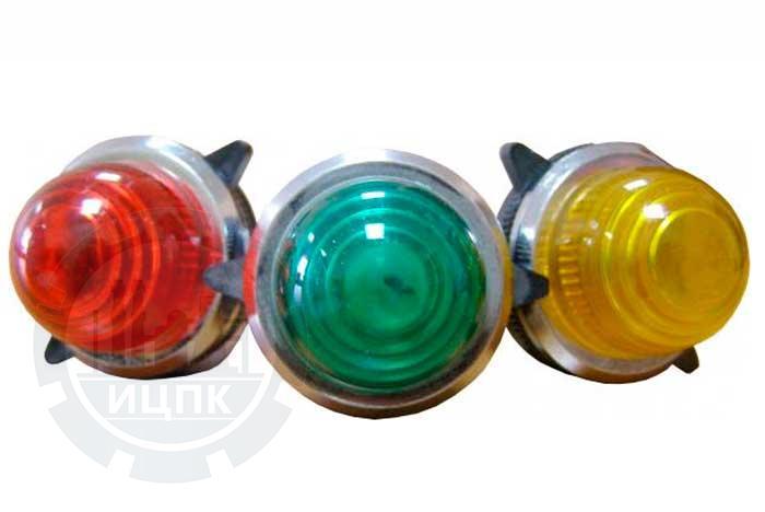 Сигнальная арматура PL-30N желтая 110/220 В фото №1