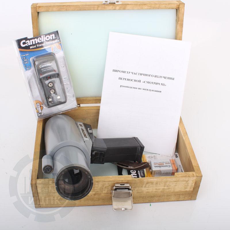 Смотрич 5П-01 переносной пирометр фото №1