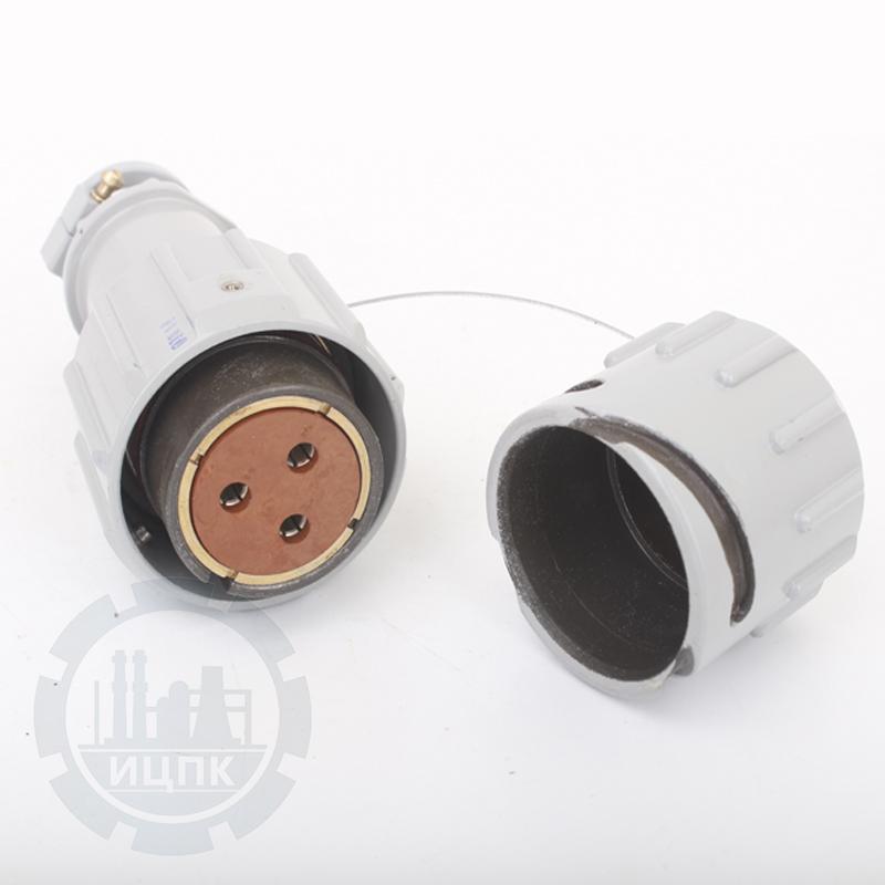 Розетка кабельная РБН1-3-5-Г4-В фото №1