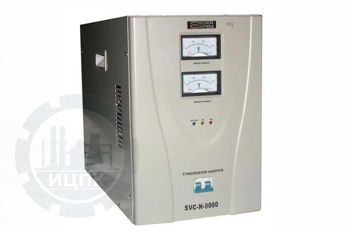 Стабилизатор напряжения SVC-N-8000 фото №1