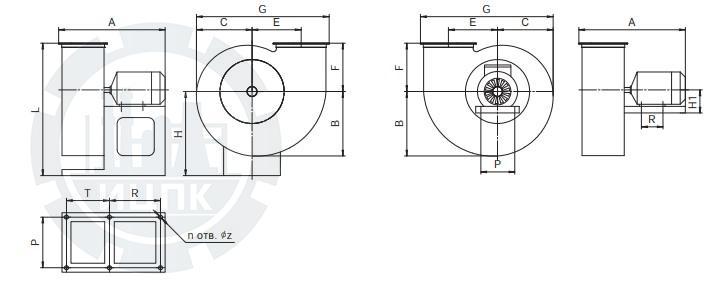 Вентилятор РСС 25/40-1.1.1-1  фото №2