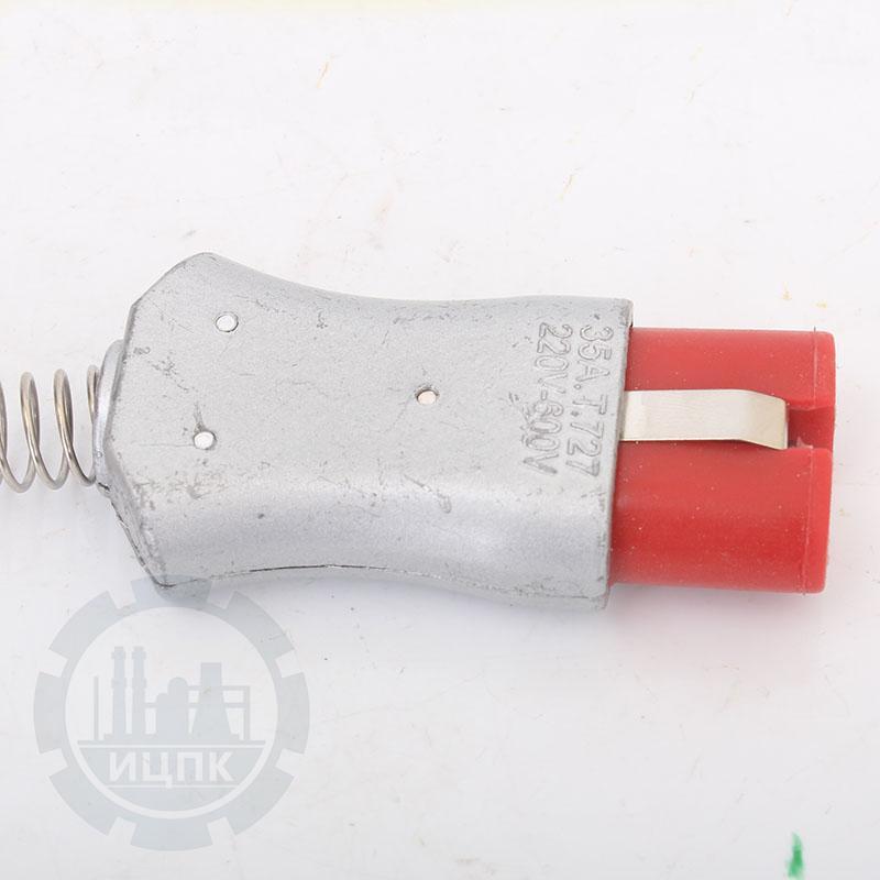 Разъем двухконтактный термостойкий (ZA727Si)-TX1004 фото №1