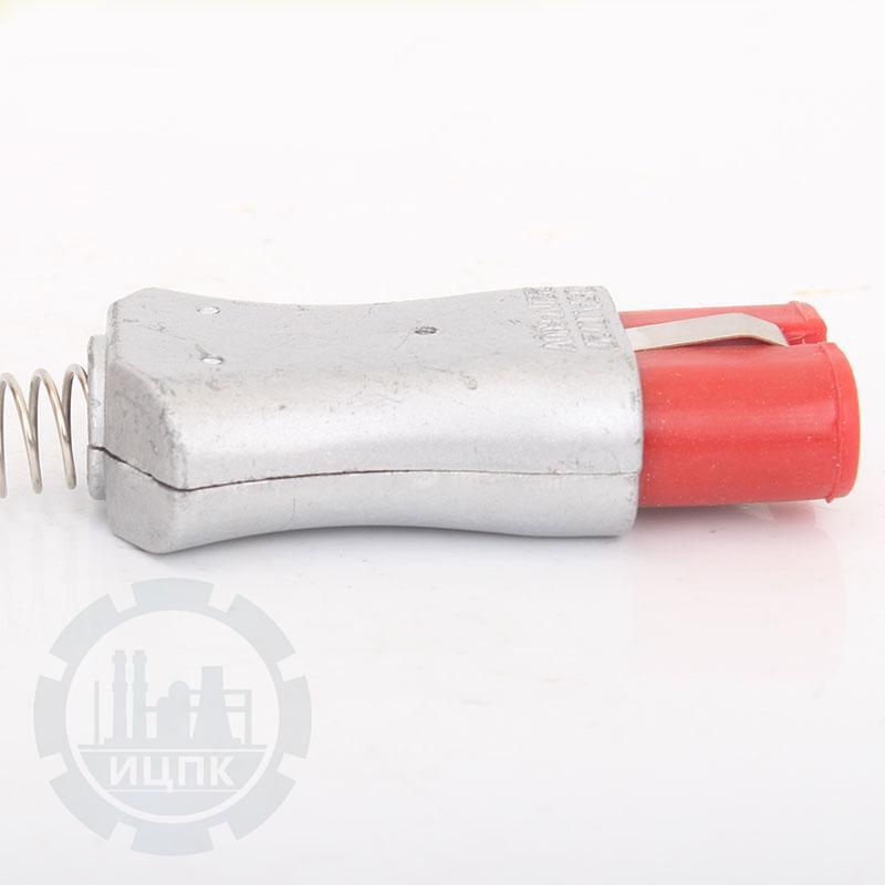 Разъем двухконтактный термостойкий (ZA727Si)-TX1004 фото №2