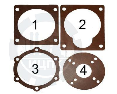 Ремкомплект прокладок биконитовых для редуктора мотоблока фото №1