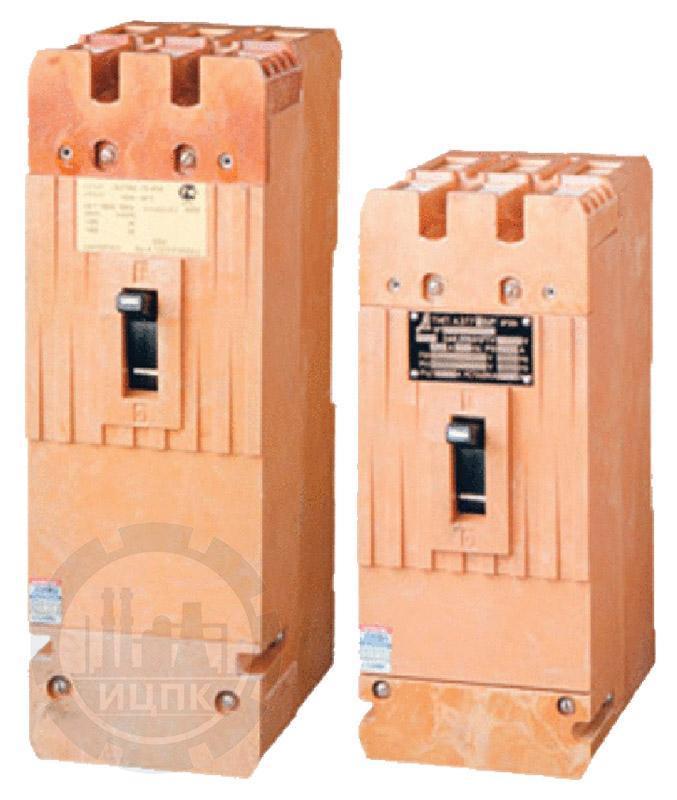 Автоматический выключатель А3716 ФУЗ (100А, 160А) фото №1