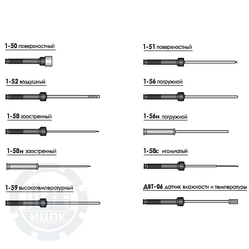 Внешние датчики для измерителей серии ИТП-3 и ИТП-5 фото №1