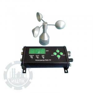 Анемометр-сигнализатор П-443МС - внешний вид устройства