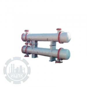Фото аппарата с неподвижными трубными решетками и температурным конденсатором ТН, ТК, ХК