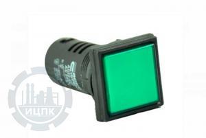 Фото арматуры светосигнальной AD22-22F зеленой
