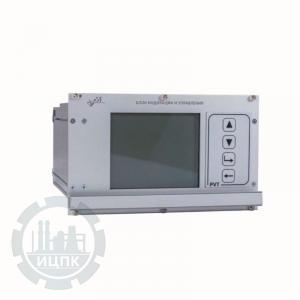 Фото блока индикации и управления ВСВ-700
