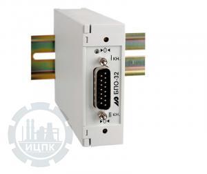 Блок преобразования сигналов термосопротивлений БПО-32 фото 1