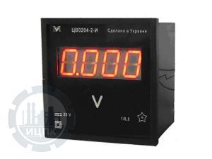 ЦВ0204, ЦВ0303 вольтметры фото 1