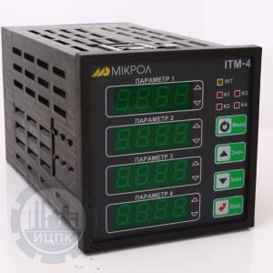 Фото 1 для  ИТМ-4 четырехканального микропроцессорного индикатора