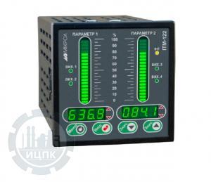 Двухканальный микропроцессорный индикатор ИТМ-122У  фото 1