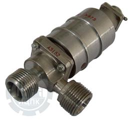 Клапан запорный угловой с электромагнитным управлением УФ 96187-006 фото 1