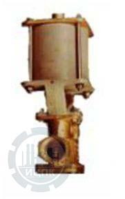 Клапаны запорные с пневмоприводом УФ 96271-015, УФ 96271-025, УФ 96271-050, УФ 96271-080 фото 1