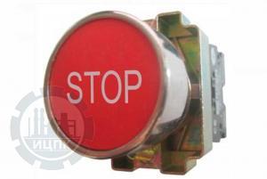 """Фото кнопки XB2-BA4342 """"Стоп"""""""