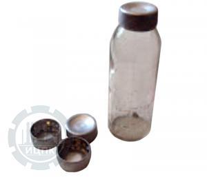 Колпачок-пробка алюминиевый для мерных флаконов К-4 фото 1