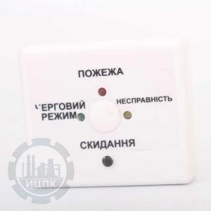 Лицевая панель МУШ-6М модуля согласования шлейфов