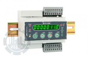 Микропроцессорный таймер-счетчик на DIN рейку МТЛ-32Н фото 1